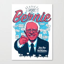Bernie Sanders Revolution Canvas Print