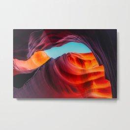 Fantasy Sun Cave Metal Print