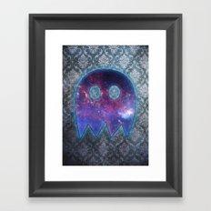 Space Ghost Framed Art Print