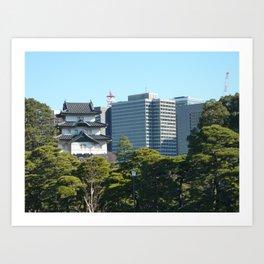 Tokyo, Old & New Art Print