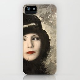 Greta iPhone Case