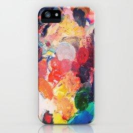 Paint Palette iPhone Case