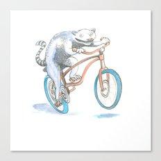 Lemur Screamer  Canvas Print