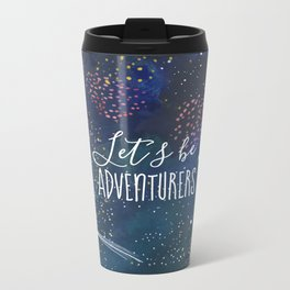 Let´s be adventurers Metal Travel Mug