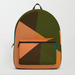 RAINBOW Abstract Art Backpack