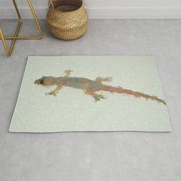 Common House Gecko Rug