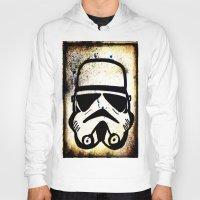 trooper Hoodies featuring Trooper by Cyndi Sabido