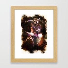 League of Legends SORAKA Framed Art Print