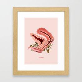 Chave (Clitoris) Framed Art Print