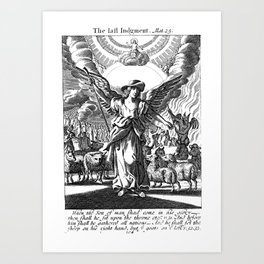 The Last Judgement Art Print