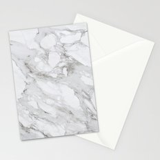 White Marble 01 Stationery Cards