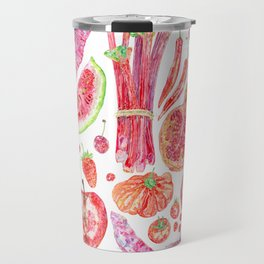 Harvest of Red Travel Mug