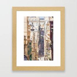 Saint Paul Street in Framed Art Print