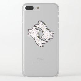 starr cream pat. Clear iPhone Case