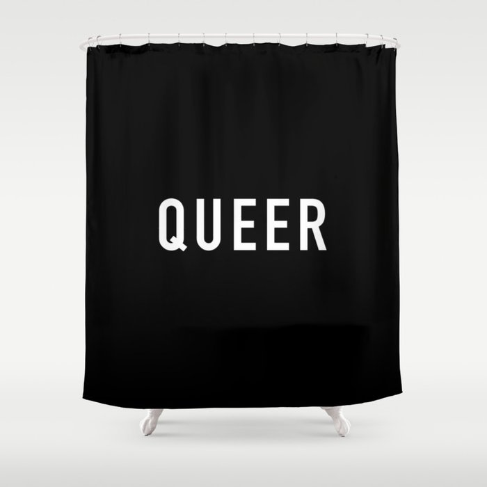 Queer Shower Curtain