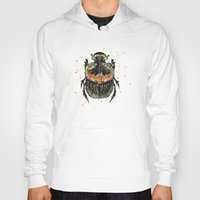 insect Hoodies featuring INSECT X by dogooder