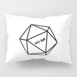Let's Roll! D20 Pillow Sham