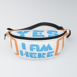 Funny Saying For Absent Players Fanny Pack