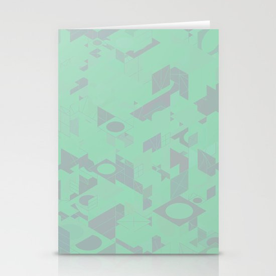 Panelscape: colours from Thorns Mint Stationery Cards