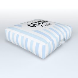 OCEAN CHILD HAND WRITTEN BY SUBGRL Outdoor Floor Cushion