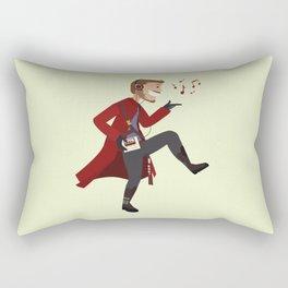 Dancing Quill Rectangular Pillow