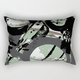Enso Groove F by Kathy Morton Stanion Rectangular Pillow