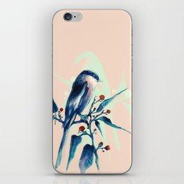 Hashtag Blue Bird iPhone Skin