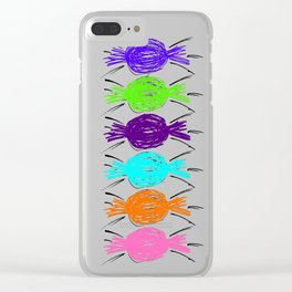 LOLLIES Clear iPhone Case