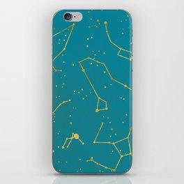 Northern Celestial Hemisphere iPhone Skin