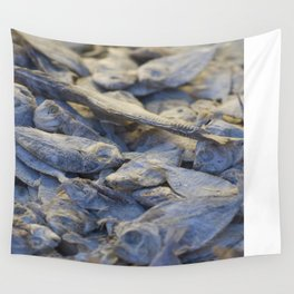 Dried Fish Wall Tapestry