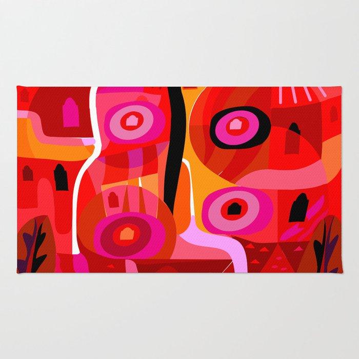Zacatecas (Red) Rug
