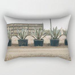 giant aloe Rectangular Pillow