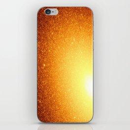 Copper Stars Ombre iPhone Skin