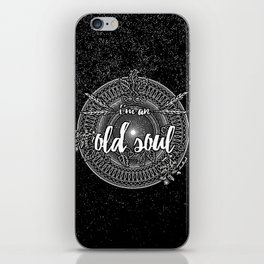 Old Soul 1 iPhone Skin