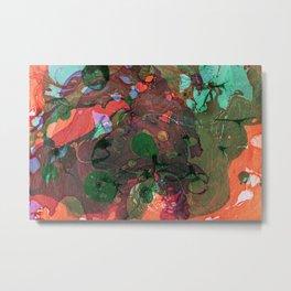 Abstract #2: World Metal Print