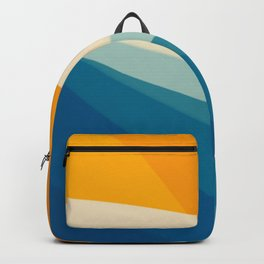 Abstract landscape art Backpack