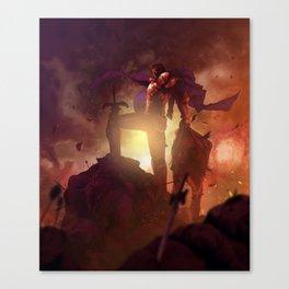 Luca Blight the Beast of Suikoden II Canvas Print