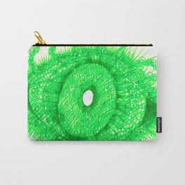 Green Eye Carry-All Pouch
