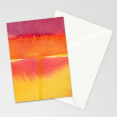 Color Field No. 5 Stationery Cards