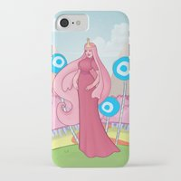 princess bubblegum iPhone & iPod Cases featuring Princess Bubblegum by Antoine Jean