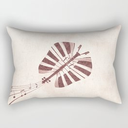 Butterfly Jazz Rectangular Pillow