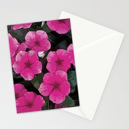 Flowers #2 - Periwinkles Stationery Cards