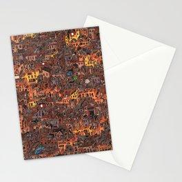 Gold Favela Stationery Cards