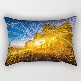 Guildford night photography workshop Rectangular Pillow
