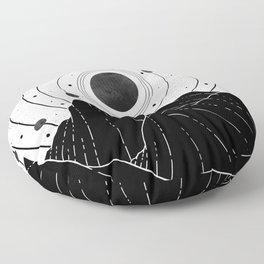 Dark Astronomy Floor Pillow