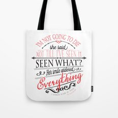 A DARKER SHADE OF MAGIC by V.E.Schwab - Book Quote Tote Bag