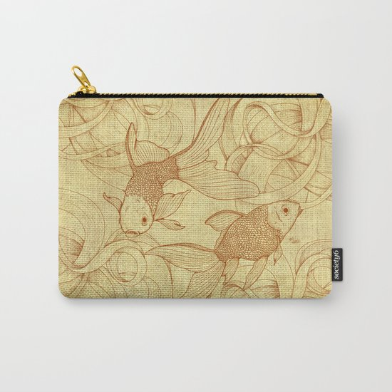 Vintage Goldfishes  Carry-All Pouch