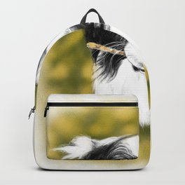 Cute Border Collie Backpack