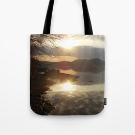 reflections of a perfect world Tote Bag