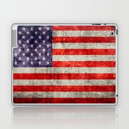 Antique American Flag Laptop & iPad Skin